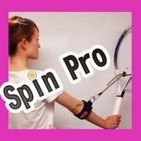 【スピンボール練習器具】 簡単装着!自然にスピンボールが身につく!