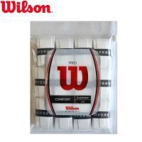 ウィルソン プロオーバーグリップ 12本セット ホワイト PRO OVERGRIP/WRZ4022 [M便 1/1]