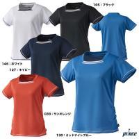 プリンス prince  テニスウェア レディース ゲームシャツ WL9056