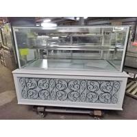 商品名:ケーキ陳列ショーケース  寸法:W1450×D900×H1200  メーカー:不明  型式:...