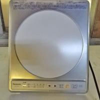 商品名:IHクッキングヒーター  寸法:W318×D372×H88  メーカー:パナソニック  型式...