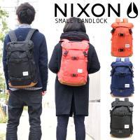 NIXONの人気商品LANDLOCKの機能を そのままに、日本限定企画で女性も 背負いやすいスモール...