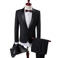 ビジネススーツ スーツ 2点セット 1ボタン メンズスーツ 2ピース 結婚式 通勤 スーツセットアッ...