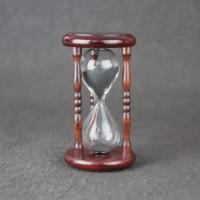 砂時計 3分 木製 砂鉄 金子硝子工芸 日本製