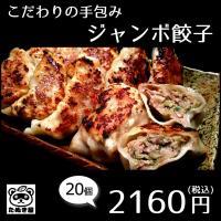 餃子20個 冷凍手包みジャンボ餃子 1個約35g お取り寄せ ぎょうざ ギョーザ