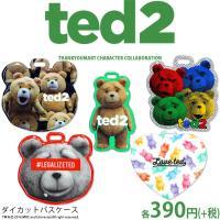 メール便OK TED2 コラボ パスケース サンキューマート//03