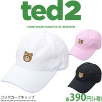 TED2 コラボ カーブキャップ サンキューマート メール便不可//×