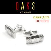 ea78b495c936 DAKS ダックス カフス 専用ボックス付き ロジウムメッキ DC10052 メンズビジネス カフス 紳士用 ...
