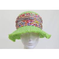 帽子 レディース 婦人 ハット GREVI グレヴィ 3231039 キミドリ ブレード つば広 日除け イタリア製 インポート 花柄 プレゼント 送料無料 春夏