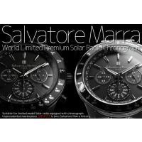 sm14117  世界限定! サルバトーレ・マーラ 電波・ソーラー・クロノグラフ 腕時計  Salv...