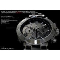 sm15114  Salvatore Marra サルバトーレマーラ 電波 ソーラー 腕時計 メンズ...