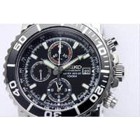 sna225  SEIKO セイコー アラームクロノグラフ ダイバーズ 腕時計 SNA225 逆輸入...
