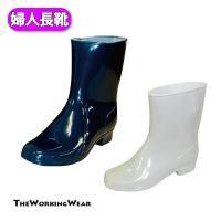 シンプルでリーズナブルな日本製婦人用レインブーツ 22.5cmから25cm  【素材】 PVCインジ...