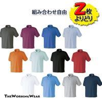 着用用途の多いポロシャツはリーズナブルなものが一番! 豊富なカラー、サイズからよりどり2枚お選びいた...