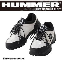 HUMMERシリーズの安全スニーカー JASS規格A種相当先芯鉄使用 人気のエナメルタイプ  【素材...
