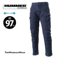 人気のHUMMERシリーズのスタイリッシュ作業服です。 ストレッチの効いた綿素材+立体裁断で動きを助...