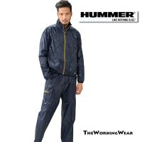 HUMMERシリーズのブレーカージャケット×ブレーカーパンツ カジュアルに作業に着用用途多彩で重宝し...