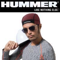 夏に欠かせないHUMMERのヘルメットインナー 頭から汗が滴り落ちるのを防ぎます。 吸汗速乾、ストレ...