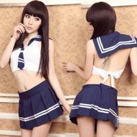 【フリーサイズ】 セーラー丈  30cm スカート丈  29cm  セット内容:セーラー+スカート ...