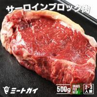 【バーベキューおすすめアイテム】  オーストラリア産牛ロースのブロック(かたまり肉)500g!お好み...