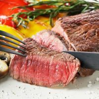サーロインやリブ、ヒレステーキのように柔らかくはありませんが、とても風味良く、焼肉店などでも良く使わ...