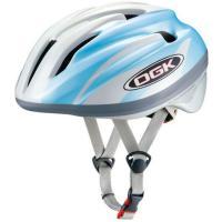 OGK ジェイ・クレス2 J-CULES2 子供用ヘルメット パールホワイトブルー 自転車用品 【5...