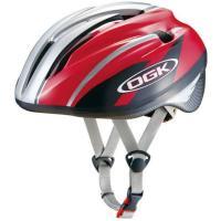 OGK ジェイ・クレス2 J-CULES2 子供用ヘルメット レッドカーボン 自転車用品 【5501...
