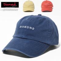 DIAMOND SUPPLY CO. 【ダイアモンドサプライ】 6パネルキャップ メンズ ローキャップ DADHAT スケーター b系 ストリート