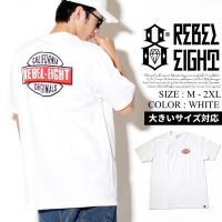 REBEL8 【レベルエイト】 tシャツ 半袖 メンズ B系 ファッション メンズ ヒップホップ ストリート系 ファッション HIPHOP