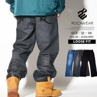 ■商品説明 洗練されたデザインで人気のROCAWEARのデニムパンツが入荷! ブランド定番人気ののダ...