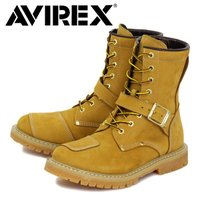 正規取扱店 THREE WOOD アメカジの王道AVIREXアヴィレックスのバイカースタイルブーツ。...