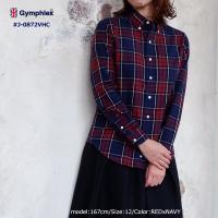 コットン100%のビエラ起毛を使用したふんわり柔らかい着心地のチェックシャツ。カラーのバリエーション...