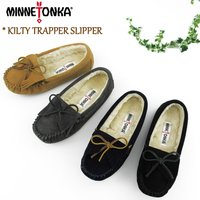 <MINNETONKA>から、2016AW新作*<KILTY TRAPPER SLIPPER/キルテ...