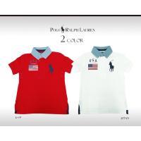 シグネチャーのBig Pony刺繍と星条旗のパッチが目を引くコットンメッシュ仕立てのポロシャツです。...
