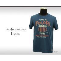 ラルフローレンの人気商品、コットン100%グラフィックプリントTシャツが入荷しました。カジュアルスタ...