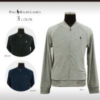 贅沢なベロア素材の軽いベースボールスタイルジャケット。ウォッシュ加工を施しているので、柔らかく快適な...