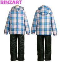 バンザート(BINZART) スキーウェアジュニア 子供スキーウェア ガールズ スノボウェア  ・撥...