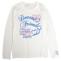 子供服 トップス Tシャツ カジュアルプリントのロンTです  どんな服装にも合わせやすいデザインを揃...