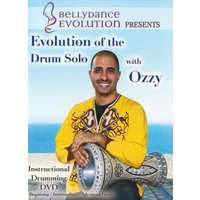 ベリーダンス レッスン ダラブッカ DVD Evolution for the Drum Solo with Ozzy Belly Dance