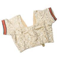 (1点物)インドのレヘンガ (青×ピンク) / エスニック 衣料 服 ファッション レビューでタイカレープレゼント