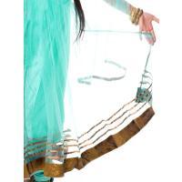 パンジャビ・ドレス3点セット エメラルド / エスニック 衣料 服 ファッション ア レビューでタイカレープレゼント