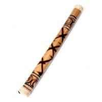 レインスティック 雨音がする民族楽器 60cm(渦巻き) / 癒やし バリ 打楽器