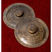 ベトナムのシンバル 13cm / シンバル、打楽器、nao、bat  民族楽器 【インドとアジアン民...