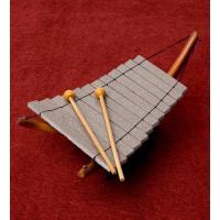 ベトナムのミニ石琴(ダン・ダー) / 石琴、ダンダー、ダン ダー、Dan Da、鉄琴、木琴  民族楽...
