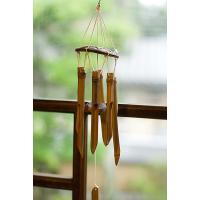 竹とココナッツの風鈴(小サイズ) / エスニック インド アジア 雑貨 アジアン ウィンドチャイム バンブーチャイム