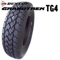 ●サイズ:145R12 6PR M+S ●タイヤ名:DUNLOP GRANTREK TG4/ダンロッ...