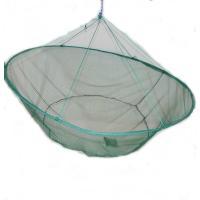 ■水底に設置して魚が集まったら、持ち上げて一網打尽に魚を捕る網です。直径は1mで、真ん中に寄せ餌を入...