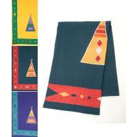 ◆商品について ネイティブな雰囲気のティピ柄のベッドカバー☆ クールなデザインはエスニック男子にもオ...