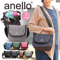 ◆商品について   人気のanelloシリーズから新作BAGの登場!! フラップ付きのショルダーバッ...