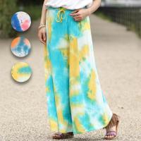 ◆商品について 夏のお出かけや外遊びのテンションを上げてくれる、インパクト大のタイダイ柄のスカート!...